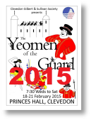 2015 The Yeomen of the Guard