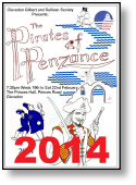 2014 The Pirates of Penzance
