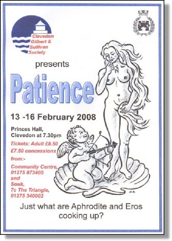 2008 Patience - Poster
